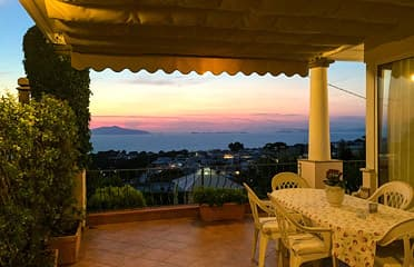 B&B - Terrace with sunset view
